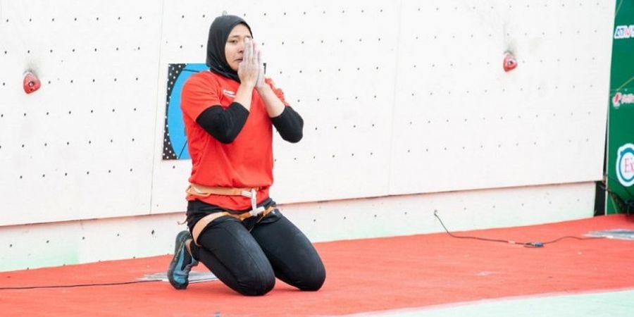 Indonesia Raih Peringkat 2 Dunia di Nomor Speed Panjat Tebing