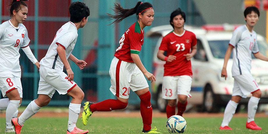 Sepak Bola Asian Games 2018 -Timnas Putri Puncaki Klasemen Grup A Usai Pesta Gol ke Gawang Maladewa