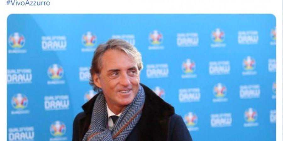 Masuk Grup Mudah, Mancini Katakan Timnas Italia Bukan Favorit