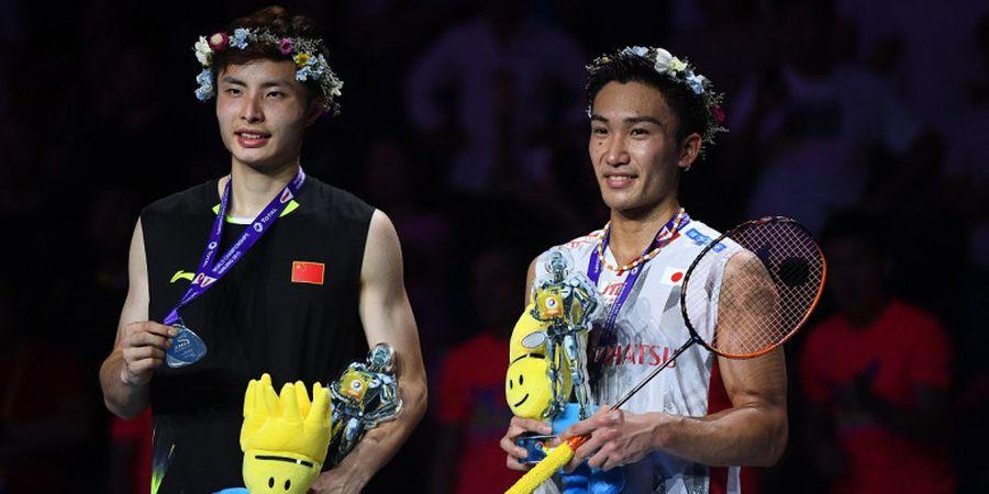 Shi Yuqi Lontarkan Sanjungan untuk Kento Momota