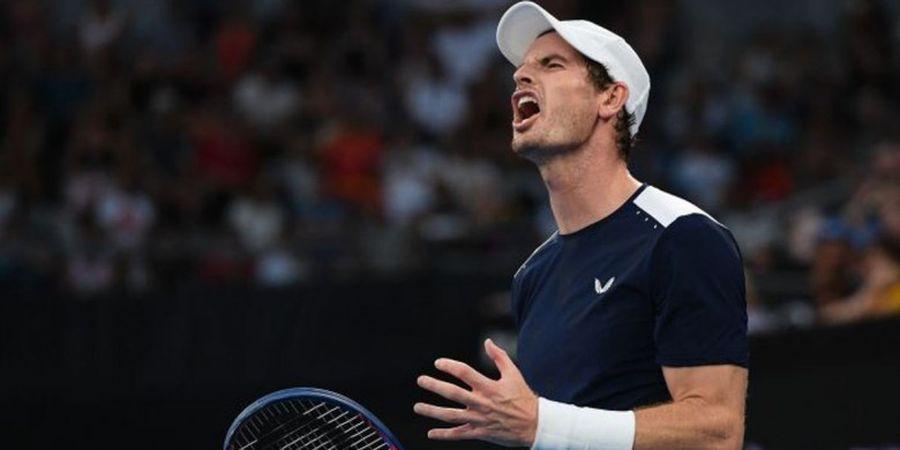 Andy Murray Langsung Tersingkir dari Australian Open 2019