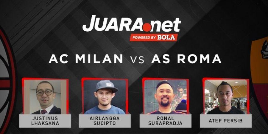 Ini Dia Prediksi Skor Milan Vs Roma