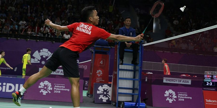 Anthony Ginting Melaju ke Babak Kedua Japan Open 2018