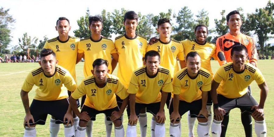 Pemain 757 Kepri Jaya Langsung Melahap Latihan Fisik