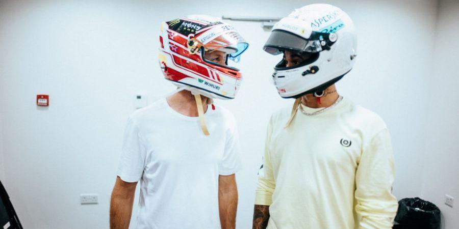 Lewis Hamilton Tak Minta Izin Saat Jajal Motor Superbike