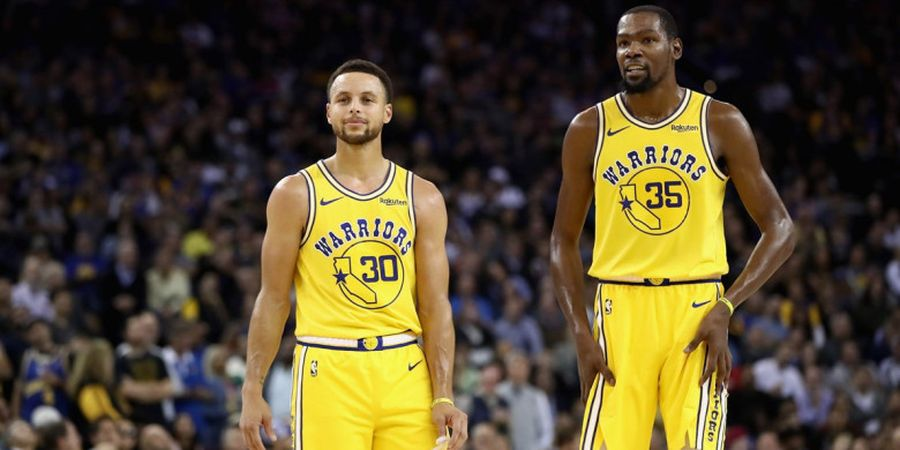 Duet Maut Stephen Curry dan Kevin Durant Bawa Warriors Menang atas Nets