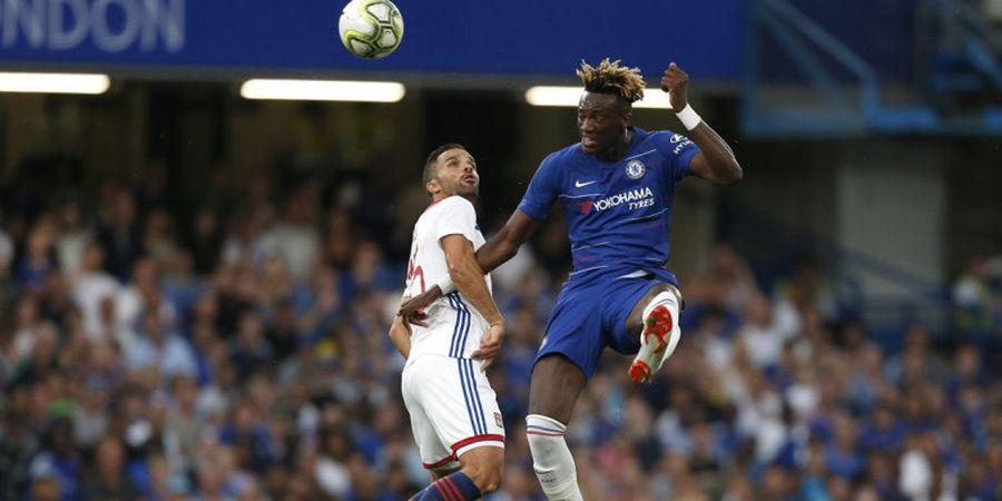 Chelsea Vs Olympique Lyon - Hampa Gol di Babak Pertama