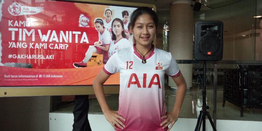 Saat Bintang Timnas Putri Indonesia Diminta Pilih Messi atau Ronaldo
