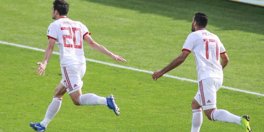 Hasil Piala Asia - Cetak Brace, Messi dari Iran yang Sempat Pensiun Hancurkan Jawara Piala AFF