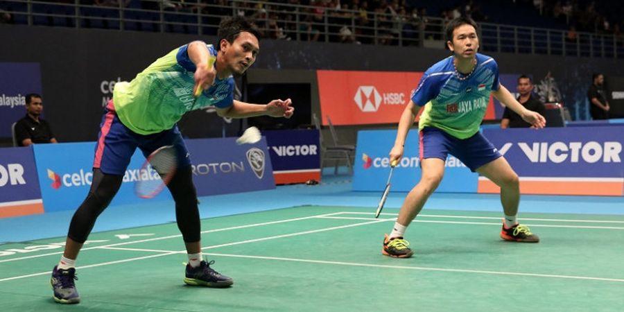 Menangi Perang Saudara, Ahsan/Hendra Lolos ke Final Singapore Open 2018