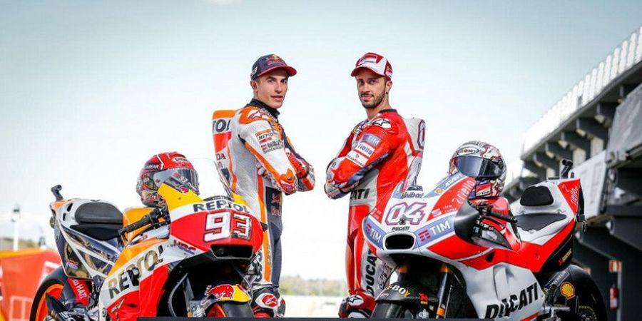 Perhitungan Matematis bagi Marquez dan Dovizioso untuk Jadi Juara Dunia MotoGP 2017
