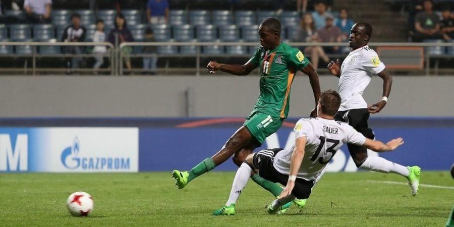 Zambia Singkirkan Jerman pada Babak 16 Besar Piala Dunia U-20