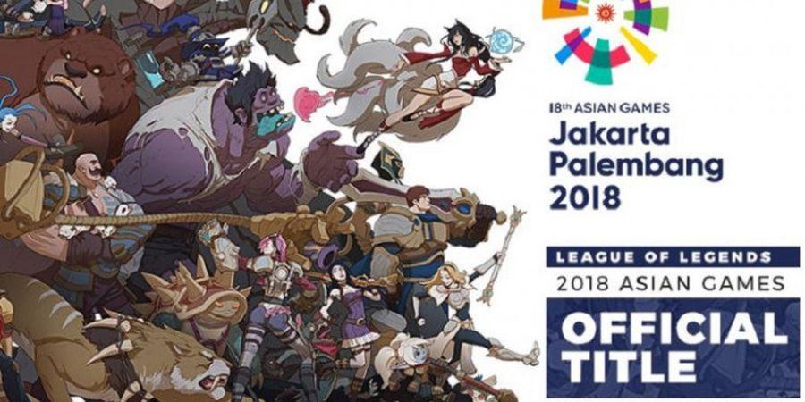 Keren! Pemain League of Legends Bisa Mempersiapkan Diri untuk Ikut Menjadi Peserta Asian Games 2018!