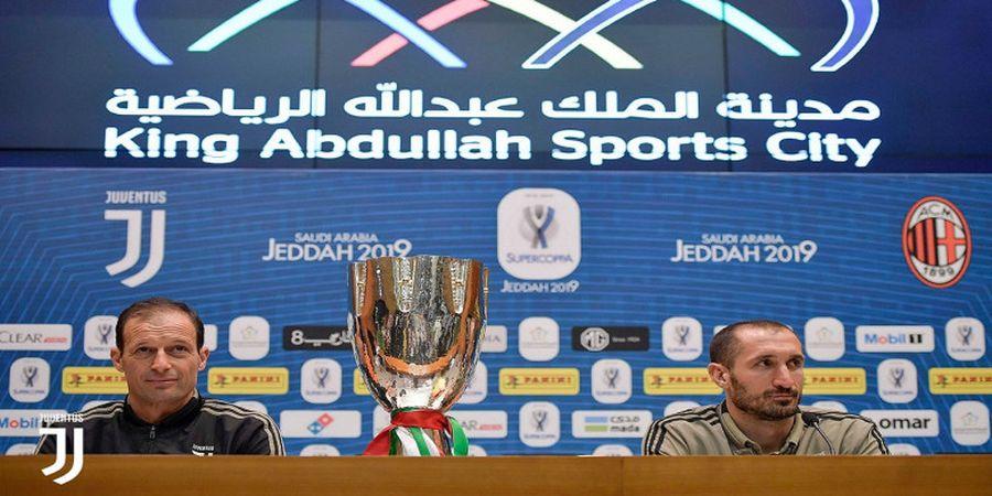 Juventus Vs AC Milan - Balas Dendam Massimiliano Allegri di Piala Super Italia