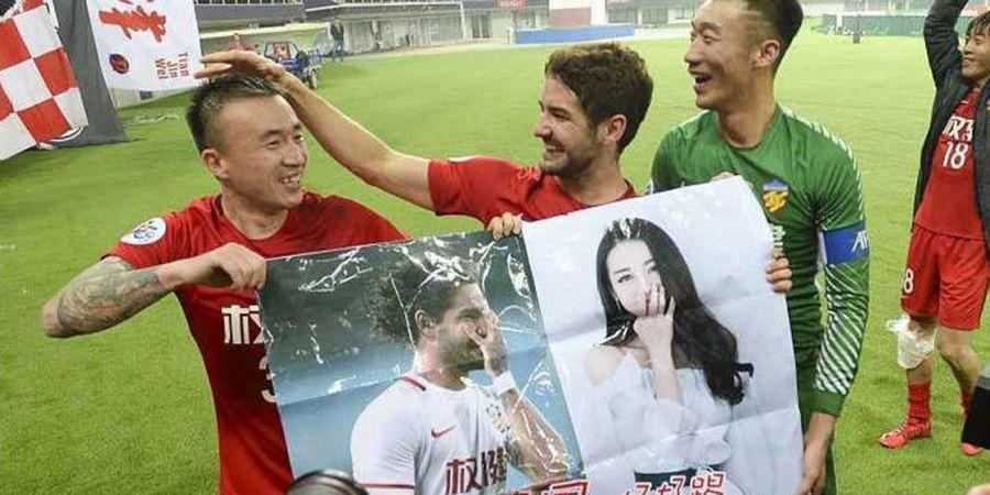 Pato dan Oscar Kompak Cetak Gol, Nasib Klub Mereka Beda pada Laga Terbaru Liga Super China