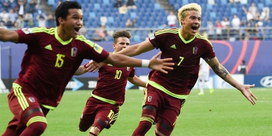 Tepis 2 Penalti Uruguay, Kiper Venezuela Antar Negara Cetak Sejarah di Piala Dunia U-20