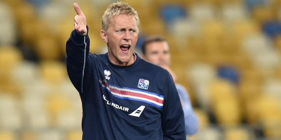 Resmi, Sang Pelatih Mundur Usai Bawa Islandia ke Piala Dunia untuk Pertama Kali