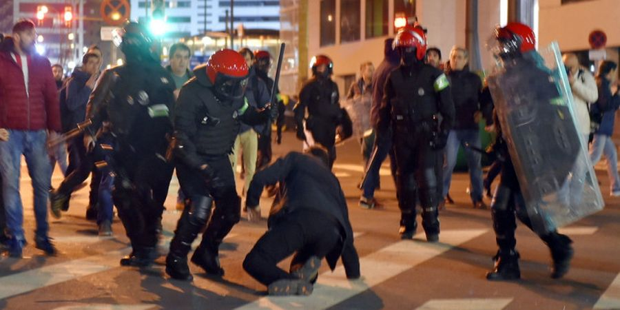 Bikin Rusuh di Kandang Bilbao, Spartak Moskva Bakal Dihukum UEFA