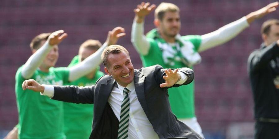 Dipecat Liverpool, Brendan Rodgers Raih Treble untuk Celtic FC