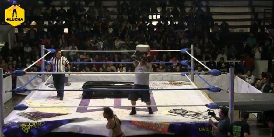 Kelewat Brutal, Aksi Pegulat di Puerto Riko Dapat Kecaman dari Legenda WWE