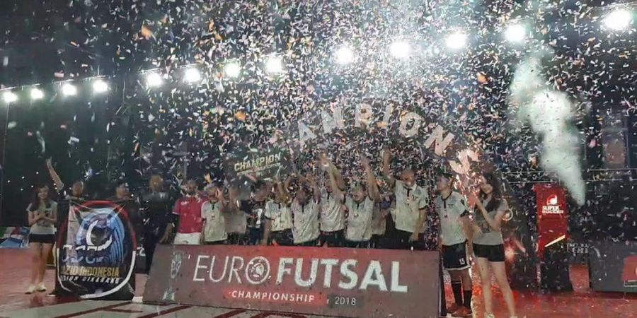 Lazio Indonesia Kirim Dua Tim di Grand Final Euro Futsal Championship