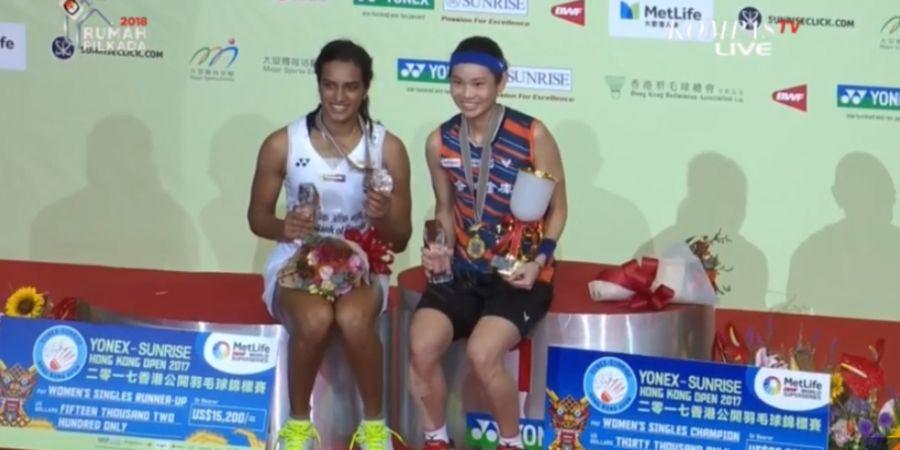 Hong Kong Open 2018 - Pusarla Venkata Sindhu dan Impian Capai Peringkat Pertama Dunia