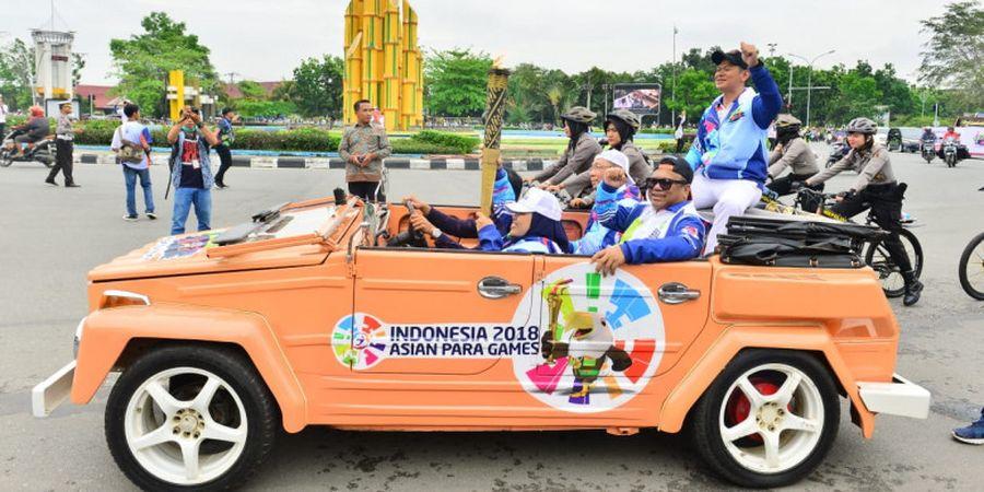 Obor Asian Para Games 2018 Singgah di Bumi Khatulistiwa
