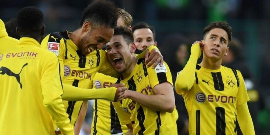 Hasil Liga Jerman, Dortmund Masuk Tiga Besar