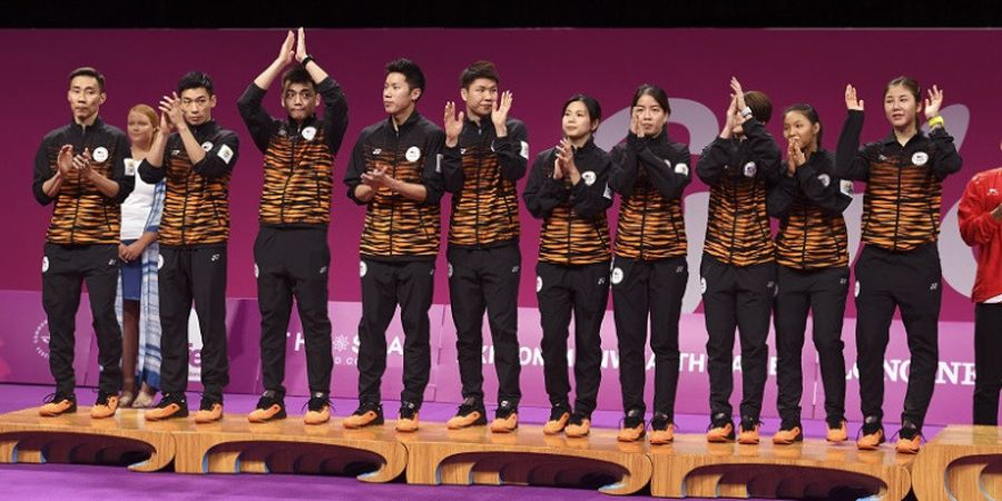 Ketika Tradisi Emas Bulu Tangkis Malaysia di Nomor Beregu Berakhir pada Commonwealth Games 2018