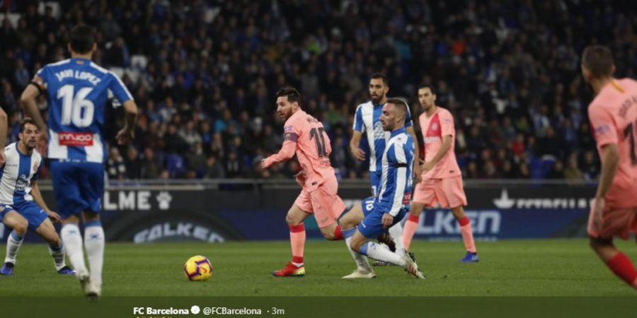 Espanyol Vs Barcelona - El Barca Cetak 3 Gol pada Babak Pertama
