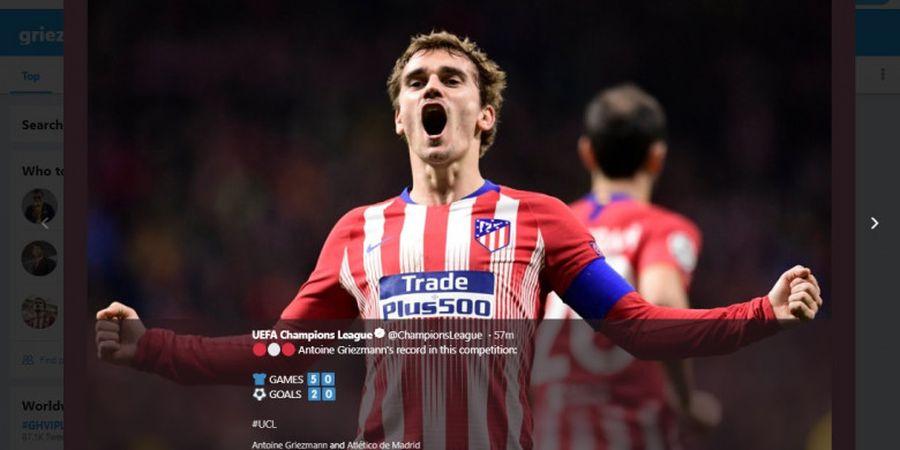 Tanpa Gol-Assist Antoine Griezmann, Atletico Madrid Hanya di Posisi 14