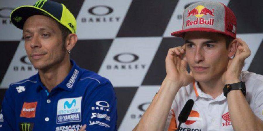 Marc Marquez Penyempurna, tetapi Valentino Rossi Populerkan MotoGP