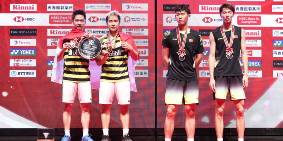 Curhat Duo Menara dan Ganda Campuran China yang Frustrasi pada Final Japan Open 2018