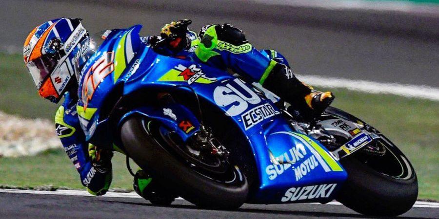 Jelang MotoGP Malaysia, Motor Alex Rins Terbakar