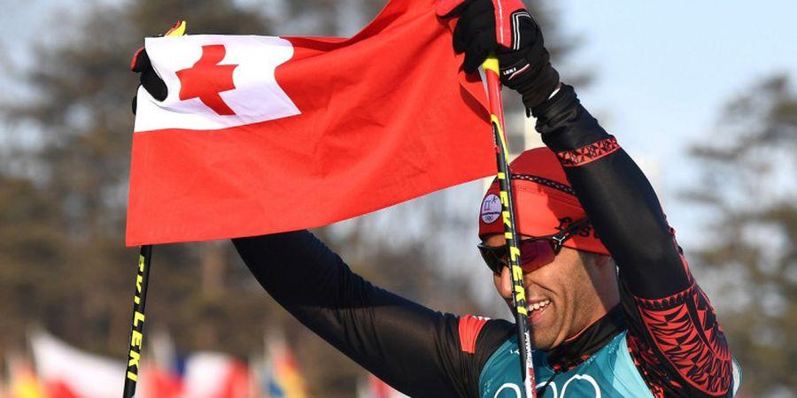 Gagal di Olimpiade Musim Panas, Atlet Tonga Ini Beralih ke Olimpiade Musim Dingin