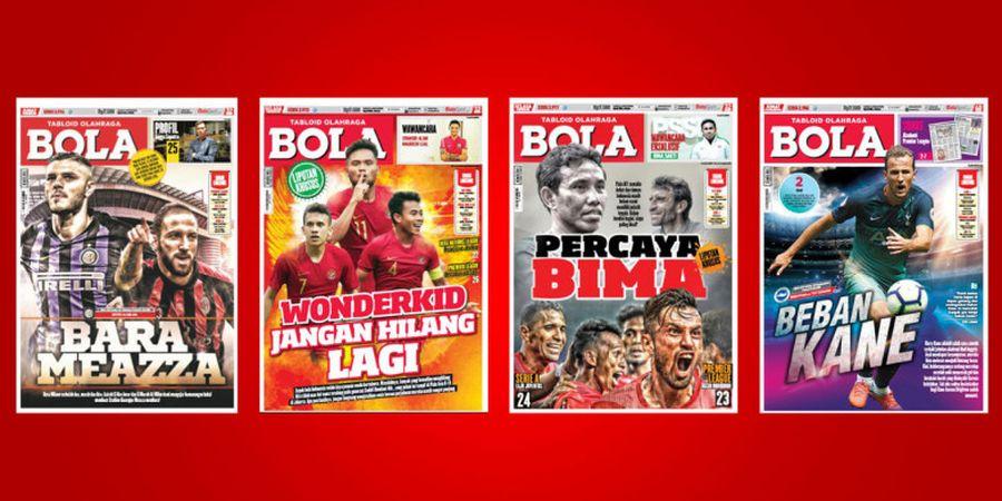 Tabloid BOLA Persiapkan Edisi Terakhir Terbit Jumat, 26 Oktober 2018.