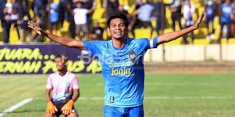 Sampaikan Maaf ke Suporter, Hendika Arga Siap Bawa PSIM Yogyakarta Lolos Liga 1
