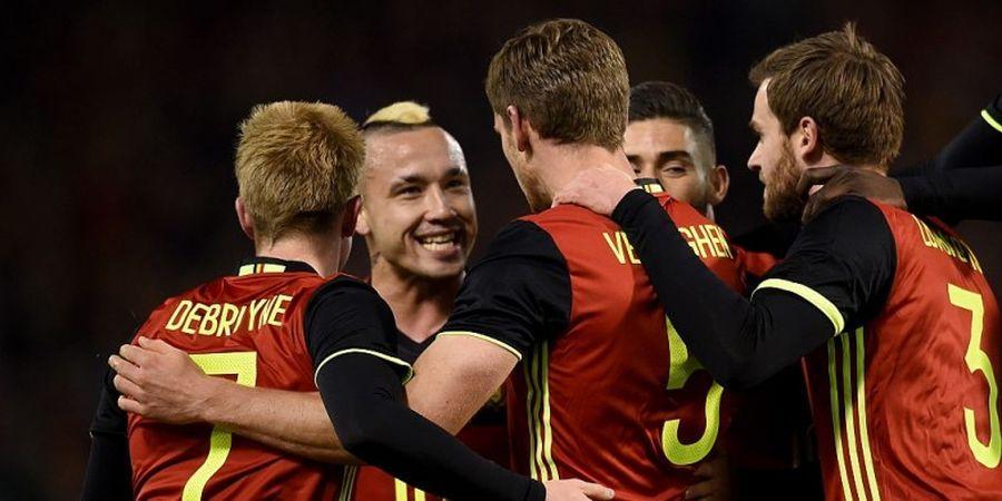 Belgia Bertahan di Puncak Ranking FIFA