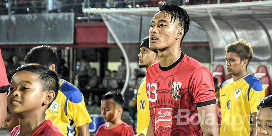 I Made Andhika Wijaya Akan Diistirahatkan Saat Bali United Hadapi Thanh Hoa, Ini Alasannya
