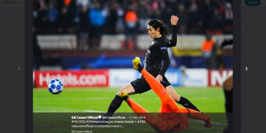 Jelang Lawan Man United di Liga Champions, PSG Kehilangan Cavani