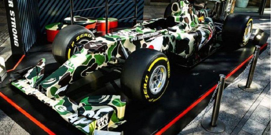 Berkat BAPE, Mobil F1 Kini Punya Motif Kamuflase
