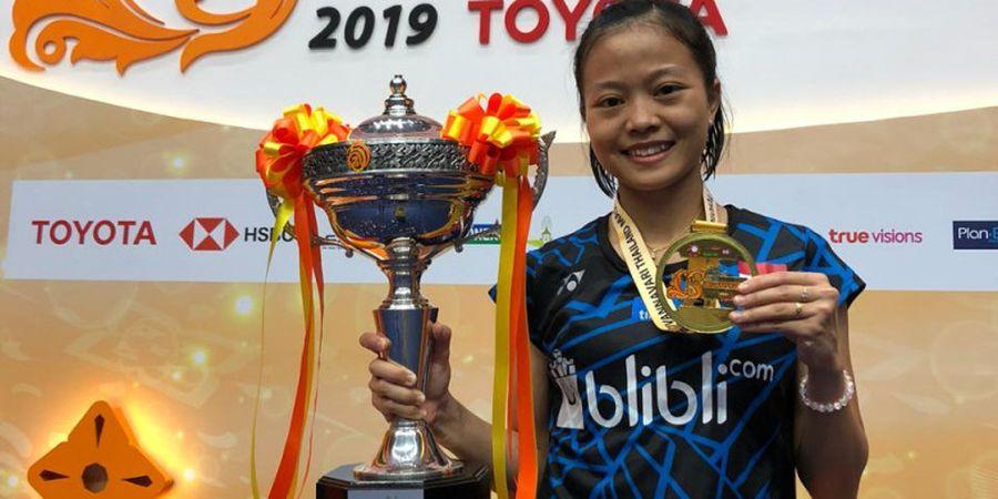 Juara Thailand Masters 2019, Fitriani Naik Dua Peringkat Dunia