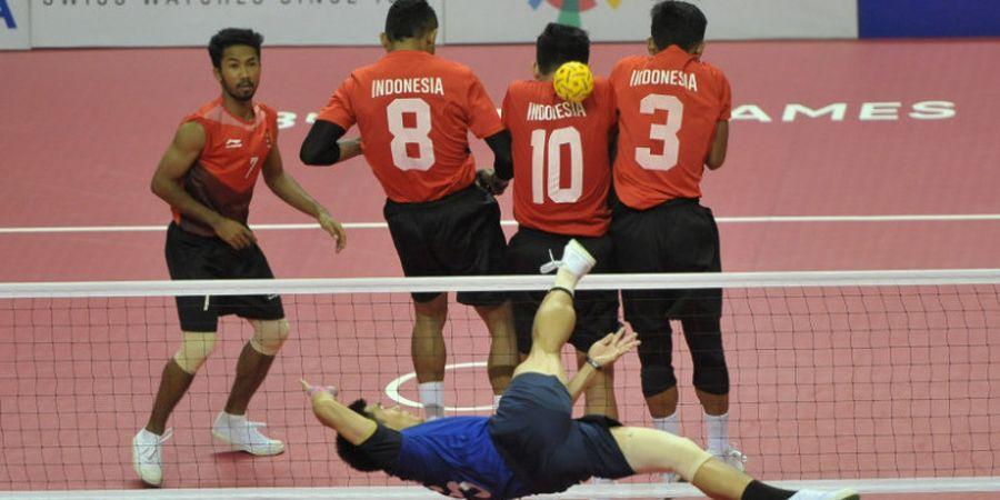 Cerita Mas Ipul yang Sempat Demam Panggung Bela Sepak Takraw Indonesia pada Asian Games