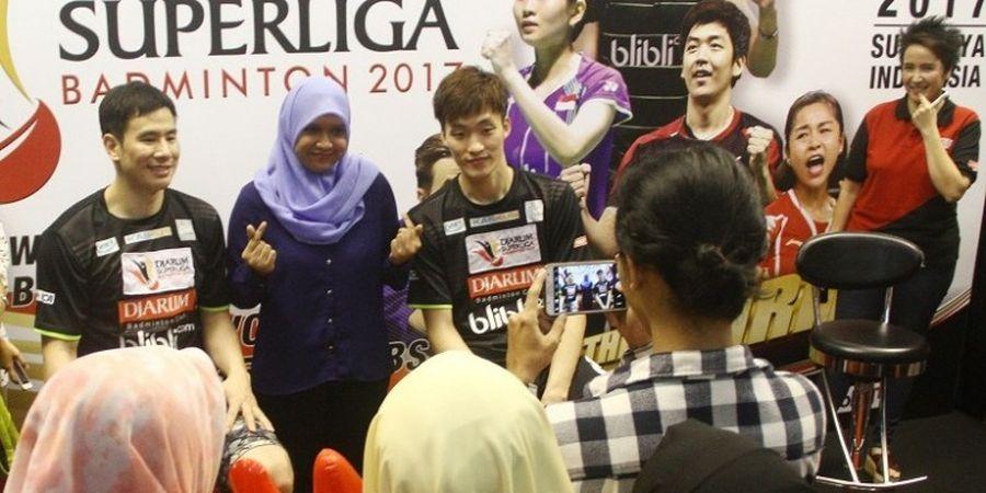 Ko Sung-hyun/Shin Baek-choel Temui Penggemar di Surabaya