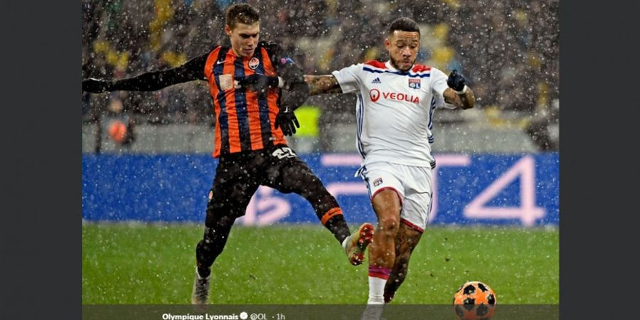 Memphis Depay Tak Simpan Dendam pada Pelatih Man United Jose Mourinho
