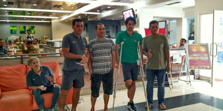 Aceh World Solidarity Cup 2017 - Cedera Engkel, Gavin Kwan Absen Sebulan