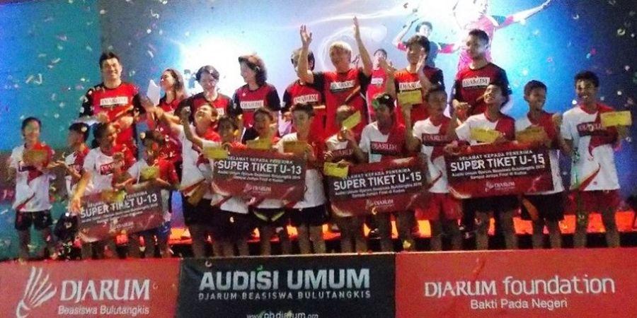 14 Pemain Lolos Audisi Beasiswa Bulutangkis di Bandung