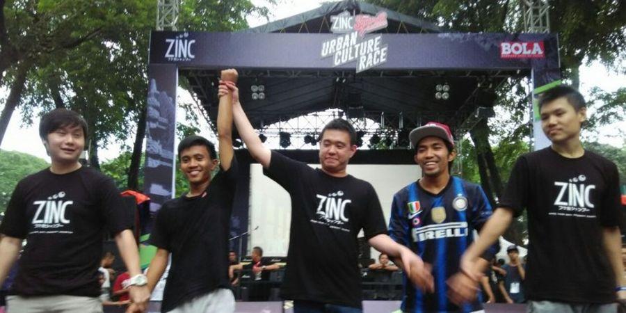 IF3 Menangi Tantangan Freestyle Contest di ZINC BSR 2016