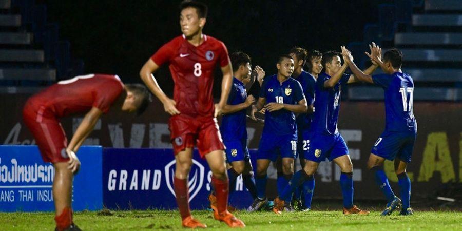 Timnas U-23 Thailand Kembali Gagal Petik Kemenangan