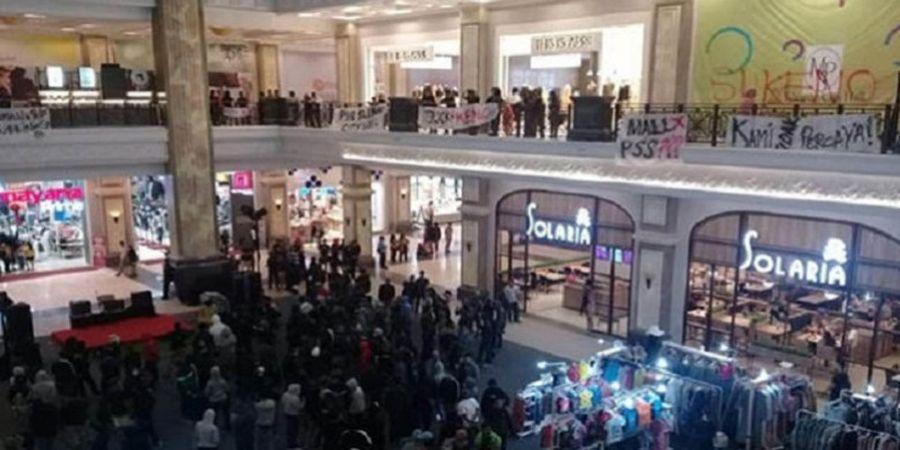 CEO PT PSS Buka Suara Terkait Aksi Suporter Lakukan Demo di Mall yang Buat Pengunjung Panik